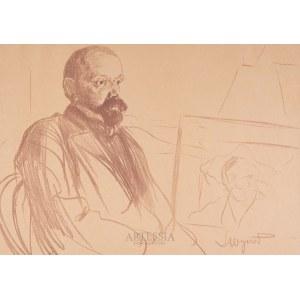Leon Wyczółkowski (1852-1936), Portret Jacka Malczewskiego, 1903