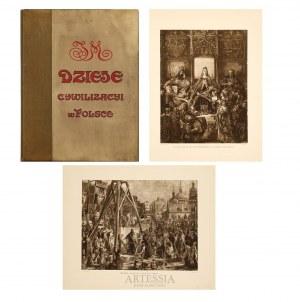 Jan Matejko (1838-1893), Dzieje cywilizacyi w Polsce zesz. I i II, 1911,1912