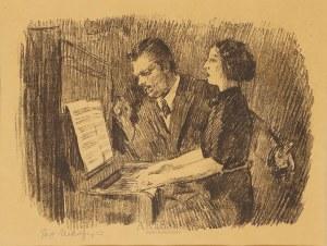 Józef Mehoffer (1869-1946), Koncert domowy, po 1941