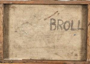 Urszula Broll (1930-2020), Z cyklu - P , 1957