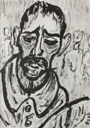 Władysław Rząb (1910-1992), Portret mężczyzny
