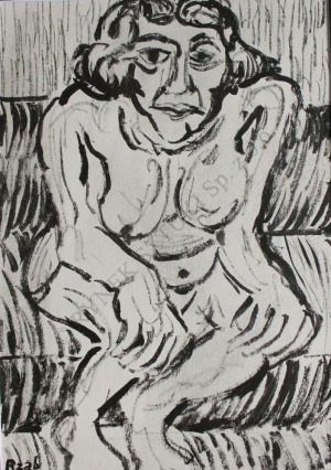 Władysław Rząb (1910-1992), Akt kobiecy