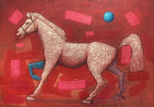 Grzegorz Klimek, Biały koń, 2021