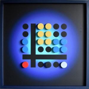 Radosław Sowiak, Warcaby z Mondrianem, 2021