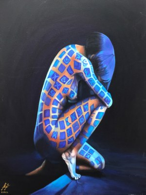 Olena Lytvynenko, Tatoo of My Soul, 2021