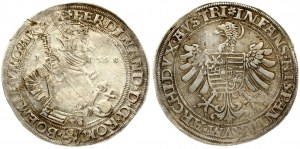 Austria Bohemia 1 Thaler 1548 Joachimsthal. Ferdinand I (1526-1564). Obverse...