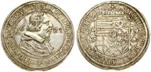 Austria 1 Thaler 1621 Tyrol. Leopold V (1619-1625). Obverse: Bust right divides date. Legend around for ...