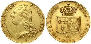 France 2 Louis D'or 1788AA Louis XVI(1774-1792). Obverse: Head left. Reverse...