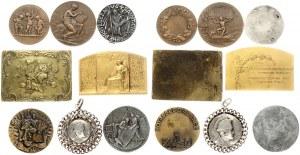 France Medal (1910) - Included 1910 Medal - La geographie; sign. A. Dubois Touring Club de France . Napoleon b lot...