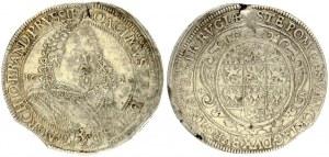 Germany Brandenburg-Ansbach 1 Thaler 1620. Joachim Ernst(1603-1625). Obverse: Armoured bust facing slightly right...