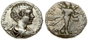 Roman Empire 1 Denarius 198 Caracalla 196-217.  198 Rome. Obverse title: M AVR ANTON - CAES PONTIF. Obverse description...