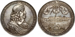 Poland Medal 1658 in Torun on the occasion of the liberation of the city of Torun from the Swedish army...