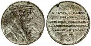 Poland Medal (1725) the reformer Johannes a Lasco. August II (1697-1733). Sn.-Medal n.d. (1725...
