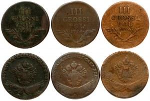 Poland 3 Grossi 1794 Franz I (1792-1835). Obverse...