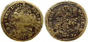 Russia Counting Token (19 Century). Depicting Emperor Anna of Russia. Germany Empire. Nuremberg. Bronze. Weight approx...