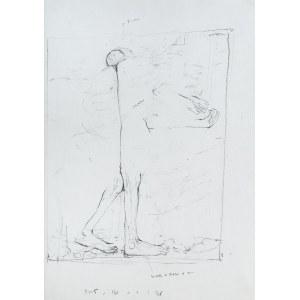 Zdzisław Beksiński (1929 Sanok - 2005 Warszawa), Bez tytułu (szkic do obrazu)