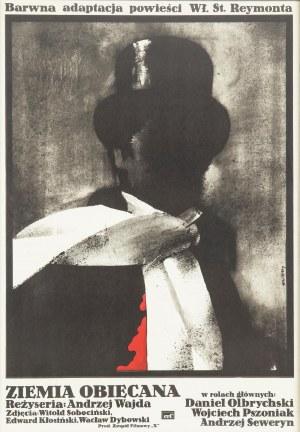 Waldemar Świerzy (1931 Katowice-2013 Warszawa), Plakat do filmu Ziemia Obiecana