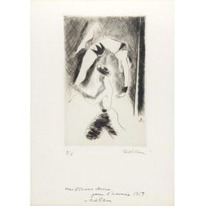 Michel Adlen (1898 Łuck – 1980 Paryż), Akrobaci, 1959