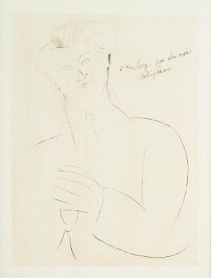 Amadeo Modigliani (1884-1920), Portret Mojżesza Kislinga