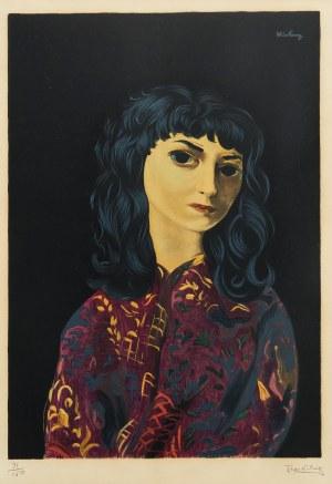 Mojżesz Kisling (1891 Kraków - 1953 Sanary-sur-Mer), Brunetka