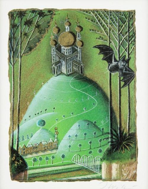 Józef Wilkoń (ur. 1930), Ilustracja do bajki Złoto króla Ottokara