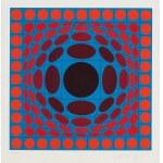Victor Vasarely (1908 Pécs - 1997 Paryż), Bez tytułu, ok. 1970 r.