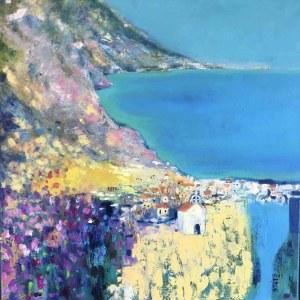 Inez White, Pejzaż śródziemnomorski, 2021