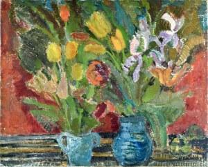 Henryk KRYCH (1905 – 1980), Kwiaty w wazonach