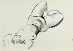Ludwik MACIĄG (1920-2007), Akt leżącej kobiety