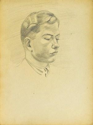 Ludwik MACIĄG (1920-2007), Portret młodego mężczyzny