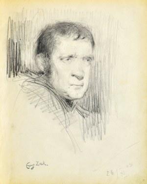 Eugeniusz ZAK (1887-1926), Głowa mężczyzny