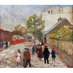 Tadeusz ROMAN (1906-1983), Ulica Armii Czerwonej w Łodzi