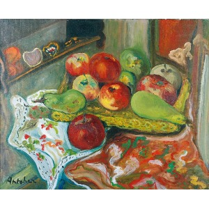 Isaac ANTCHER (1899-1992), Martwa natura z owocami, l. 30. XX w.