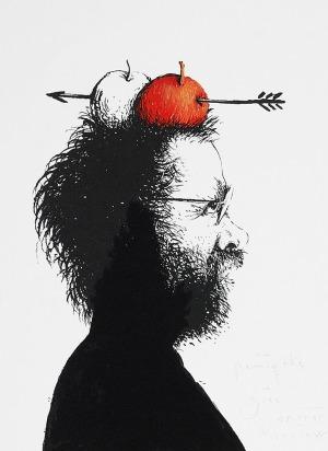 Eugeniusz GET-STANKIEWICZ (1942-2011), Autoportret jako Wilhelm Tell