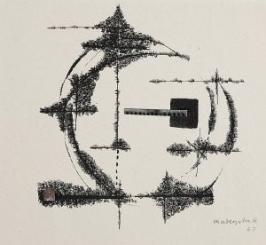 Arika MADEYSKA (1928-2004), Interwencje, 1963