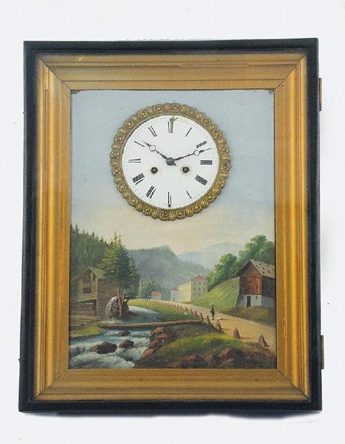 Zegar ścienny, obrazowy