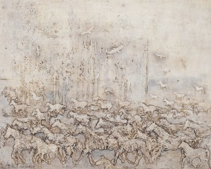 Stanisław Tomalak, Fragment 415 z cyklu Niebo i ziemia, 2017