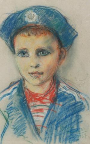 Roman BILIŃSKI (1897-1981), Marynarz, 1967
