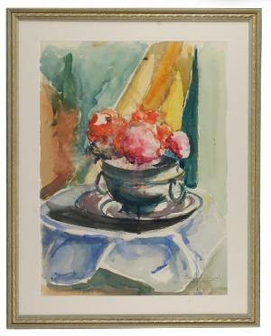 Roman BILIŃSKI (1897-1981), Kwiaty w wazie