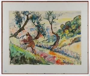 Roman BILIŃSKI (1897-1981), Artysta przy pracy