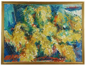Roman BILIŃSKI (1897-1981), Mimozy, 1980