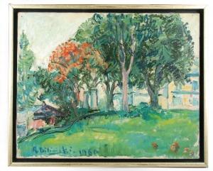 Roman BILIŃSKI (1897-1981), Pejzaż, 1960