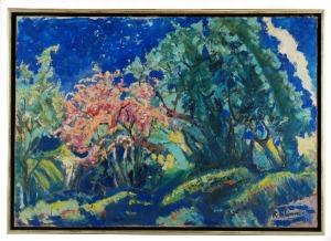 Roman BILIŃSKI (1897-1981), Kwitnące drzewo [Albero fiorito - Villa Ortensia], 1961