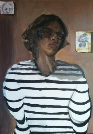 Kacper Woźny, Autoportret, 2017