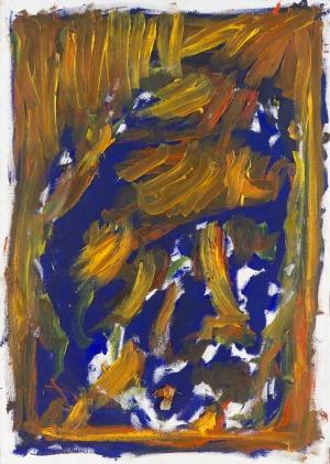 Jacek Sempoliński (1927-2012), Autoportret, 2000 r.