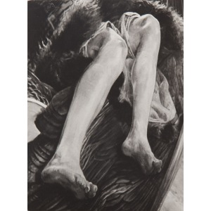 Zbigniew Dłubak (1921 - 2005), Metamorfoza obrazu Jacka Malczewskiego - dyptyk, 1973