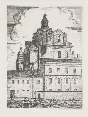 Jerzy HOPPEN (1891-1969), Zestaw 6 grafik - Stare Wilno I, 1924