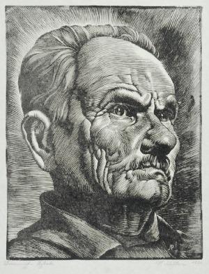 Paweł STELLER (1895-1974), Rybak, 1926