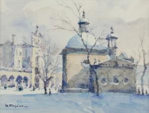 Henryk SAJDAK (1905-1995), Kościół św. Wojciecha w Krakowie, ok. 1960