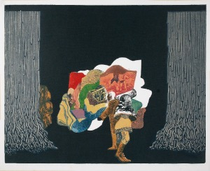 Jan Jaromir ALEKSIUN (ur. 1940), Seans, 1969